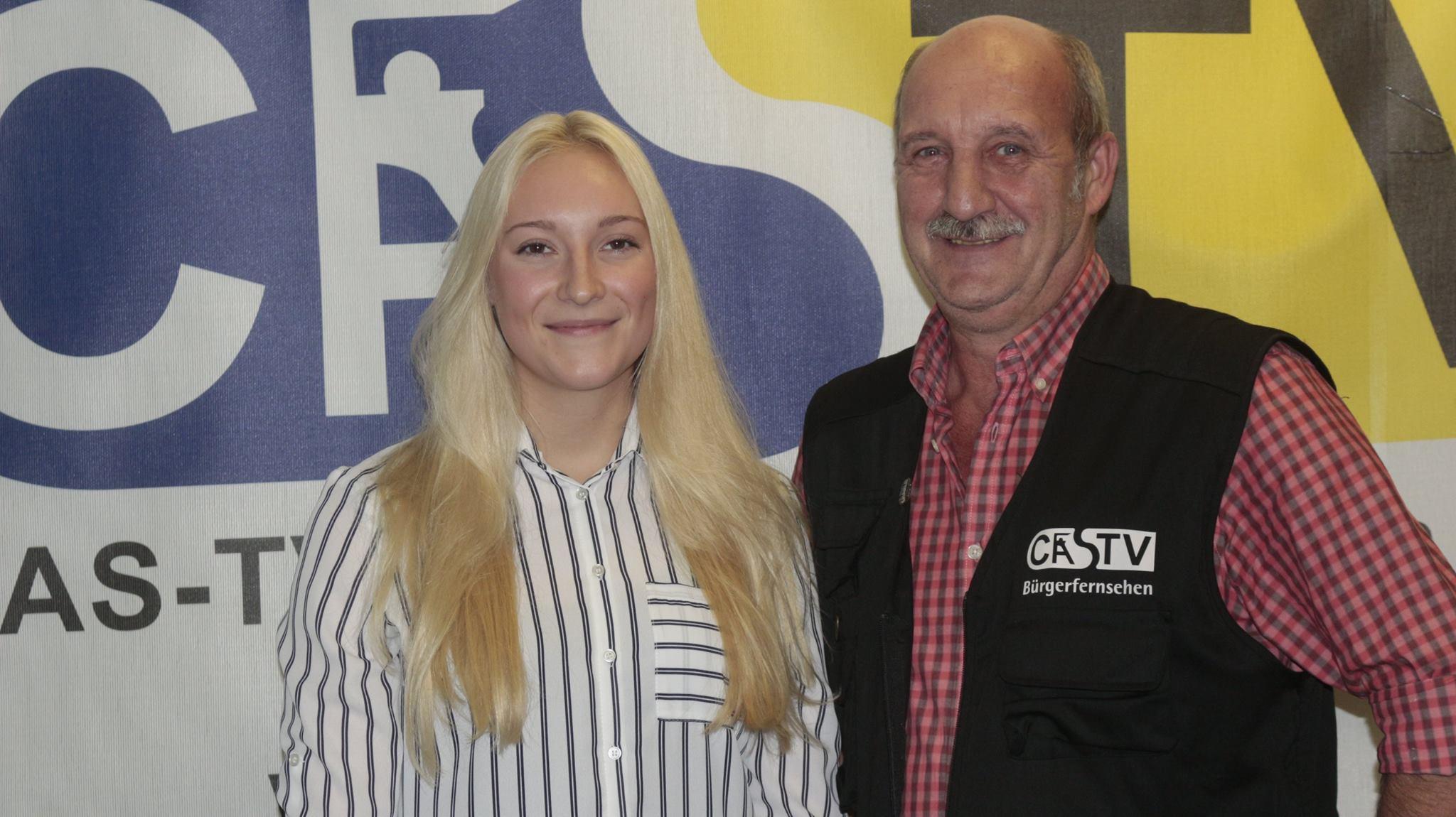 Annika Gil Interview vor ihrem Auftritt im ZDF aktuellen Sportstudio