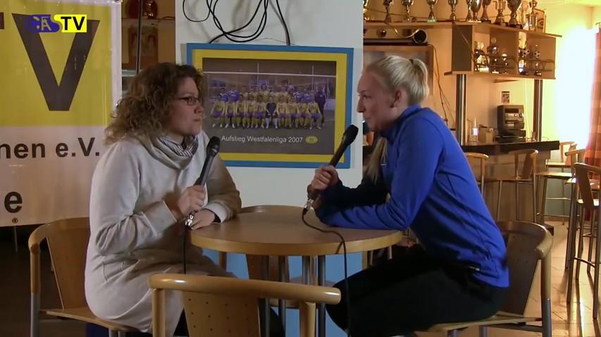 Interview mit Annika Gil nach ihrem Erfolg beim ZDF Torwandschießen