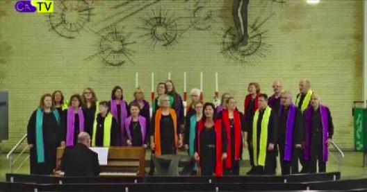 """Unterwegs mit dem Chor """"Gospel Voices"""""""